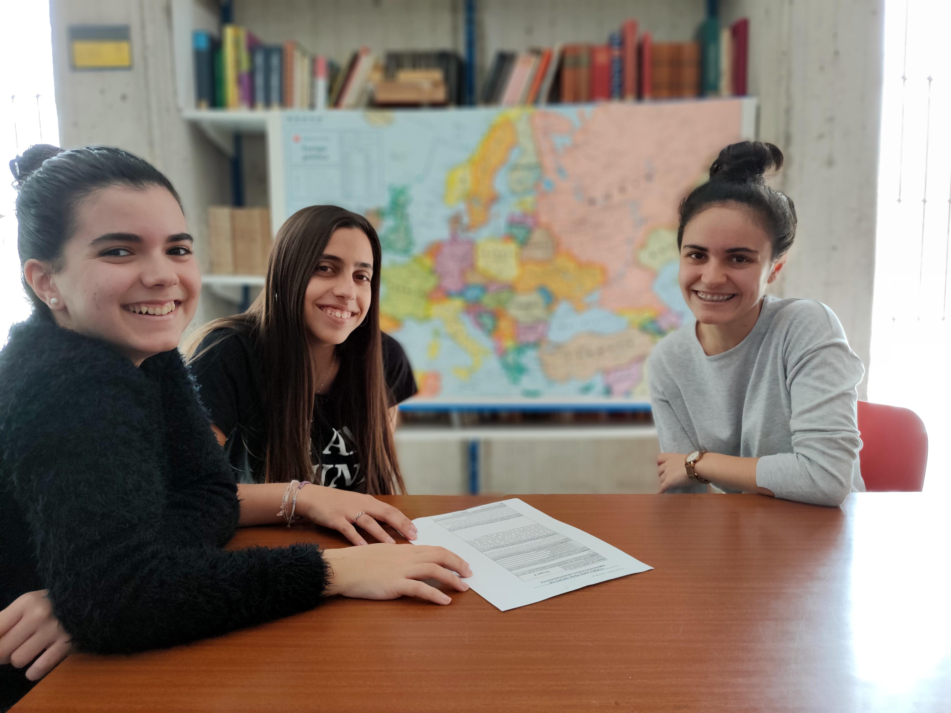 Alumnas de Bachillerato