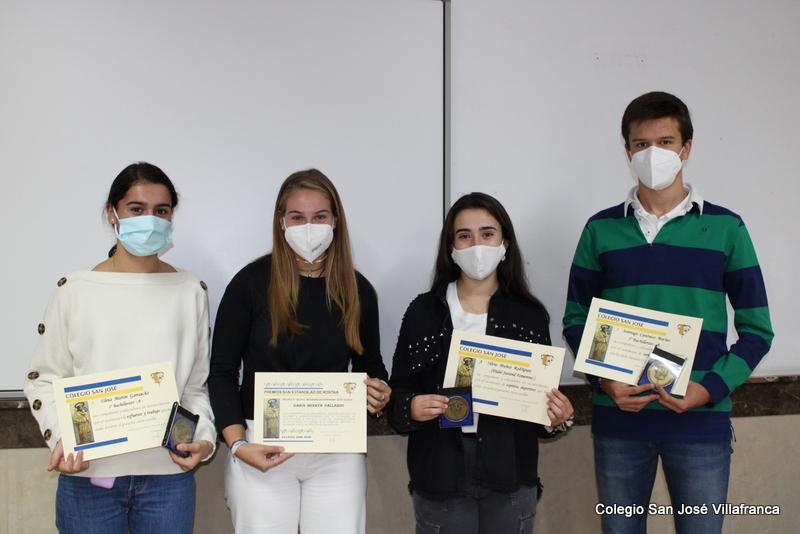 Premios Formación Humana Colegio San José Villafranca