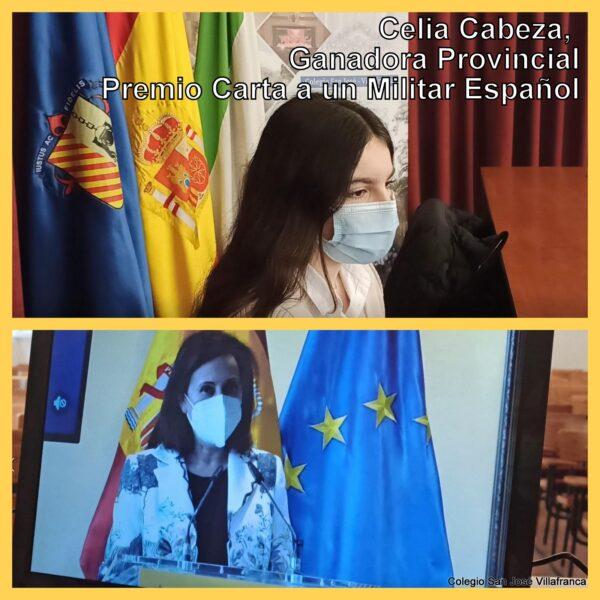 Premio Militar Español- Celia Cabeza